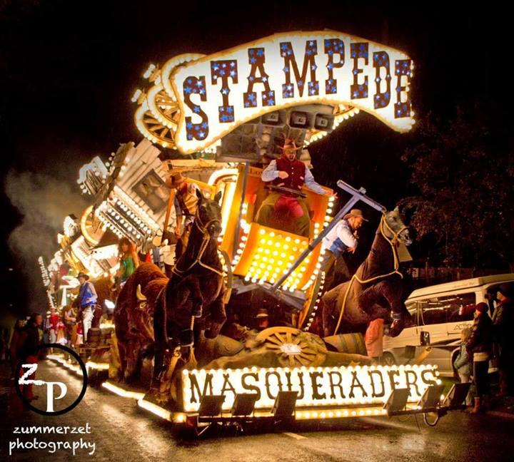 Masqueraders CC 2013 full Stampede