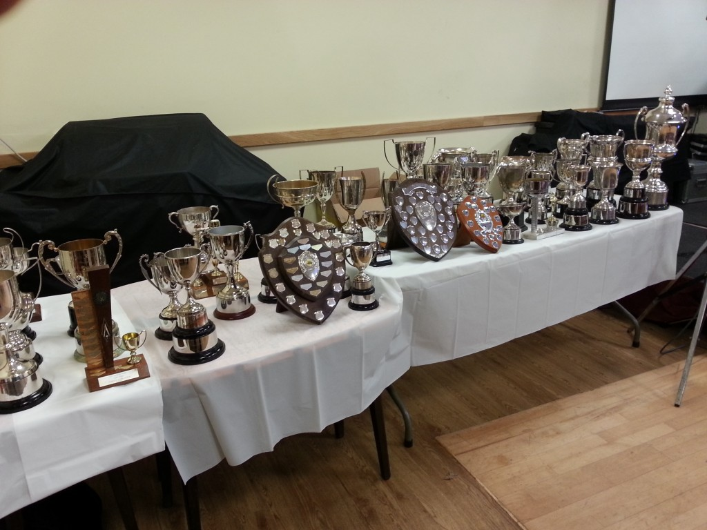 NPCC Presentation Night Trophies